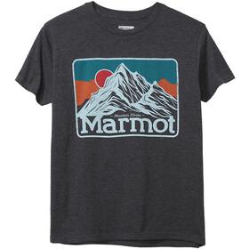 Marmot Mountain Peaks T-shirt Heren, grijs